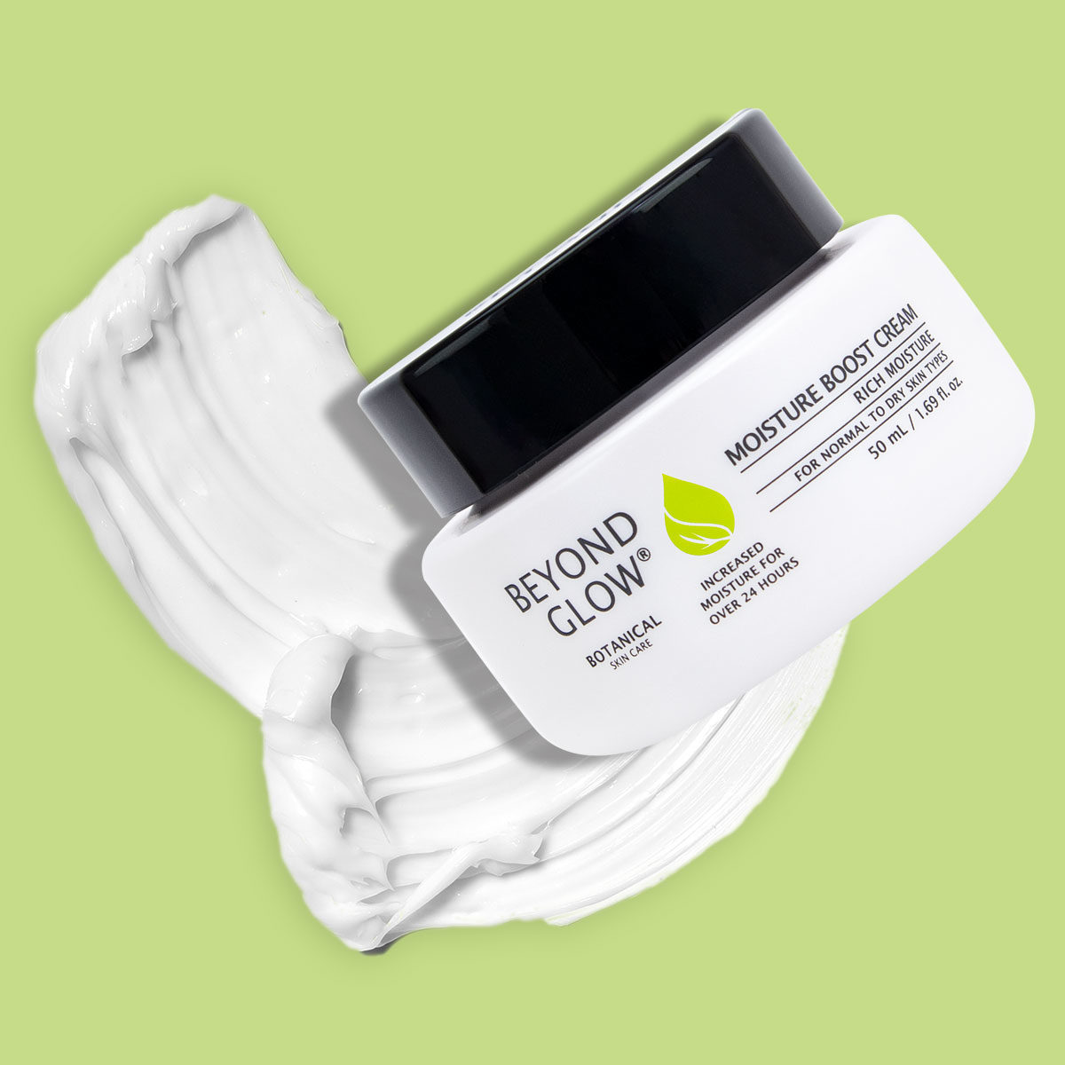 Moisture Boost Cream Green - Beyond Glow - Botanical Skin Care